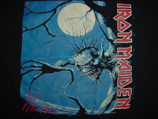 Vintage Iron Maiden Fear of the Dark T-Shirt S