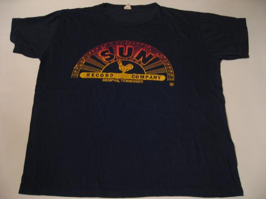 Vintage Sun Records Memphis Tennessee T-Shirt L
