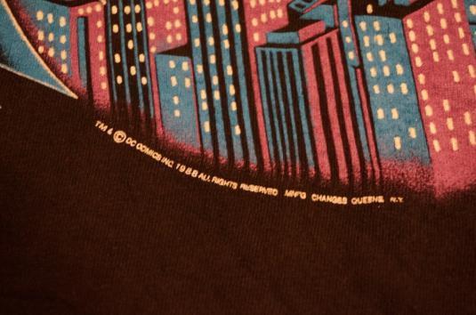 Vintage Batman DC Comics 1988 Changes T-Shirt XL/L