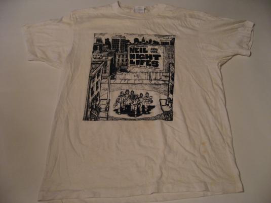 Vintage Neil and the Night Lifes T-Shirt Rhythm Blues Soul M