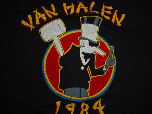 Vintage Van Halen T-Shirt 1984 M/L