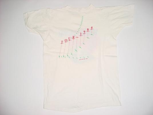 Vintage Wang Chung T-Shirt Points on the Curve M/S