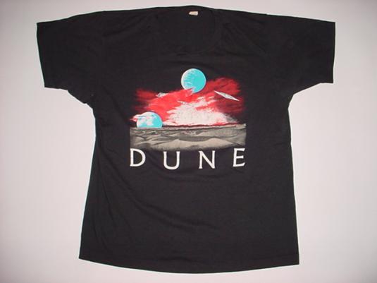 Vintage Dune T-Shirt David Lynch Sting 1980s M