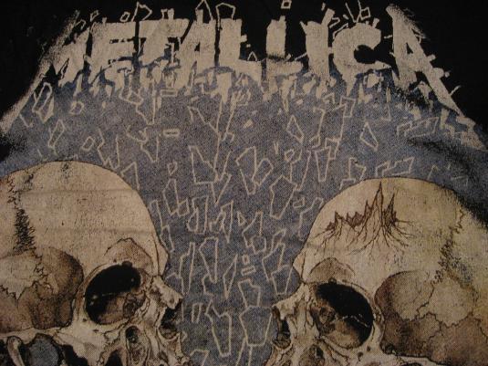 Vintage Metallica Skulls T-Shirt L