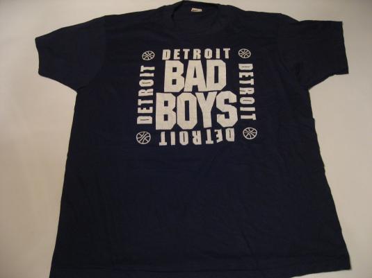Vintage Detroit Pistons Bad Boys T-Shirt 1980s L/M