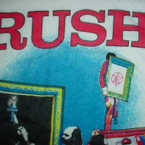 Vintage Rush Moving Pictures Jersey T-Shirt 1981 M/S
