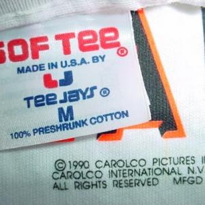 Vintage Johnny Cab T-Shirt Total Recall M