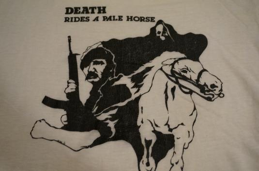 Vintage Death Rides a Pale Horse T-Shirt M/S