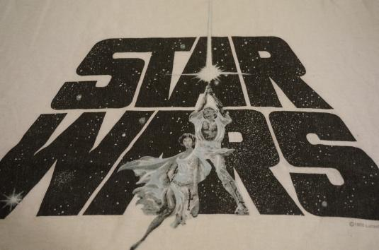 Vintage Star Wars T-Shirt Lucasfilm 1996 M/S