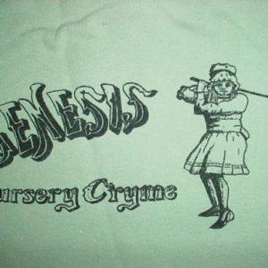 Vintage Genesis Nursery Cryme T-Shirt 1971 S