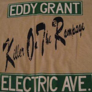 Vintage Eddy Grant T-Shirt Electric Avenue Killer Rampag MS