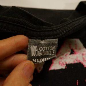 Vintage Nirvana T-Shirt Kurt Cobain I Want to Die M