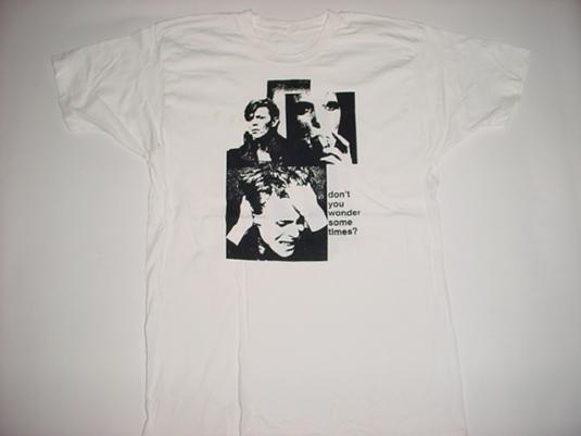 Vintage David Bowie T-Shirt Sound Vision M