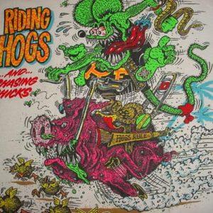 Vintage Rat Fink T-Shirt Edward Roth Ed hot-rod L