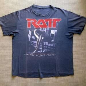 1985 RATT - Invasion of Your Privacy Tour t-shirt