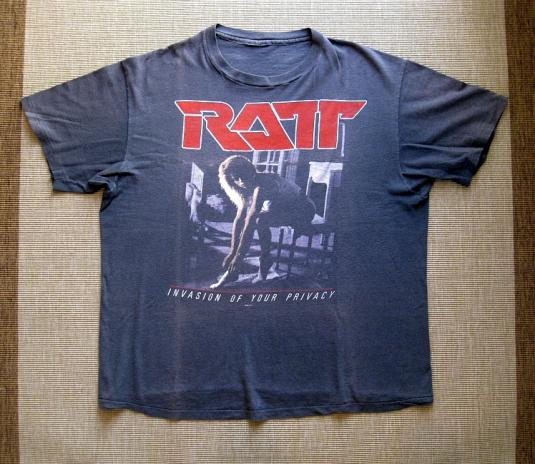 1985 RATT – Invasion of Your Privacy Tour t-shirt