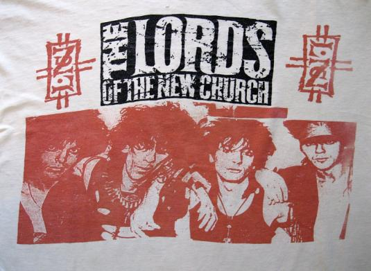 Ultra Rare 1986 Lords of the New Church