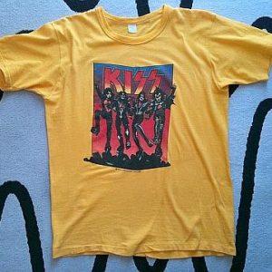 Ultra Rare 1976 Kiss Destroyer Tee