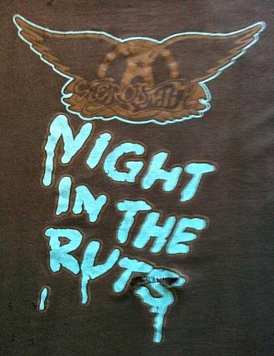 Rare 1979 Aerosmith Tour T-Shirt