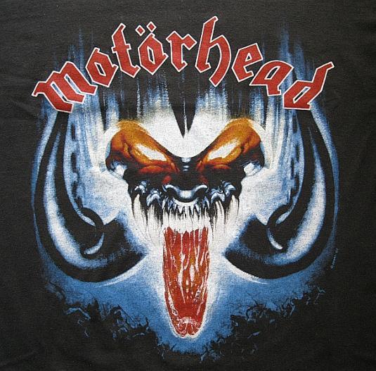 Rare 1987 Motorhead Tee