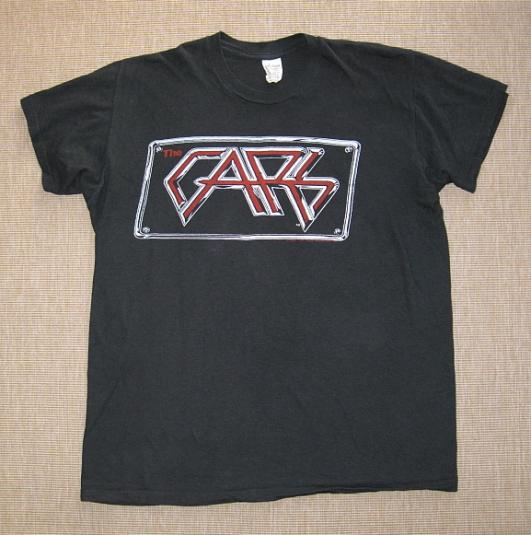 Rare 1982 The Cars Tour T-shirt