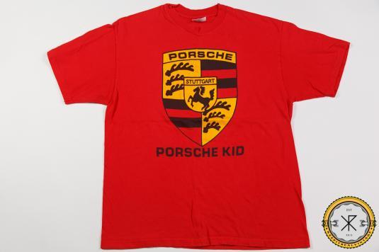 90'S PORSCHE KID VINTAGE T-SHIRT