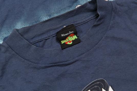 1996 LOONEY TUNES SPACE JAM BASKETBALL TEAM VINTAGE T-SHIRT