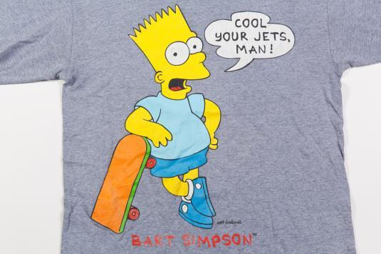90'S BART SIMPSON CARTOON VINTAGE T-SHIRT