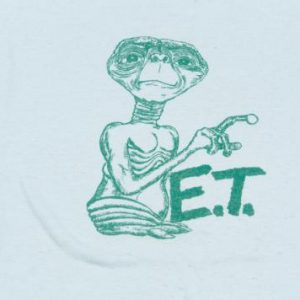 80'S E.T. EXTRA TERRESTRIAL SOFT THIN VINTAGE T-SHIRT