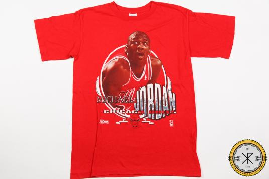 1991 MICHAEL JORDAN CHICAGO BULLS BASKETBALL VINTAGE T-SHIRT