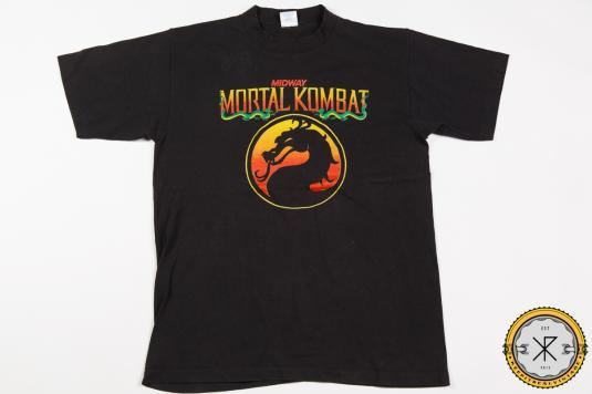 90'S MORTAL KOMBAT MOVIE FIGHTING ACTION VINTAGE T-SHIRT