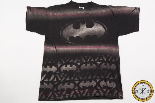 90'S BATMAN ALLOVER PRINT MOVIE VINTAGE T-SHIRT