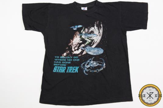 90'S STAR TREK SCI-FI MOVIE VINTAGE T-SHIRT