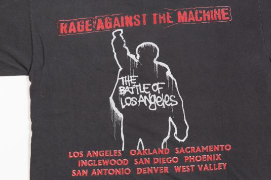 90'S RAGE AGAINST THE MACHINE VINTAGE T-SHIRT