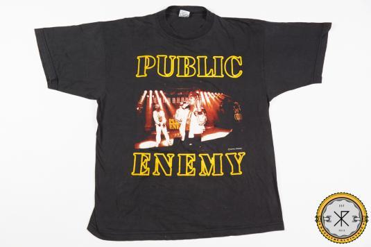 90'S PUBLIC ENEMY VINTAGE T-SHIRT