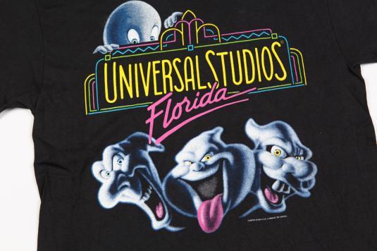 1995 UNIVERSAL STUDIO FLORIDA CASPER MOVIE VINTAGE T-SHIRT
