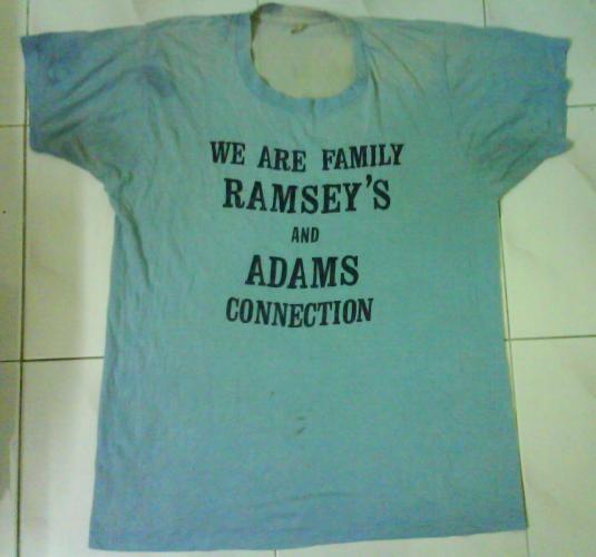 VINTAGE RAMSEY'S T-SHIRT 80S