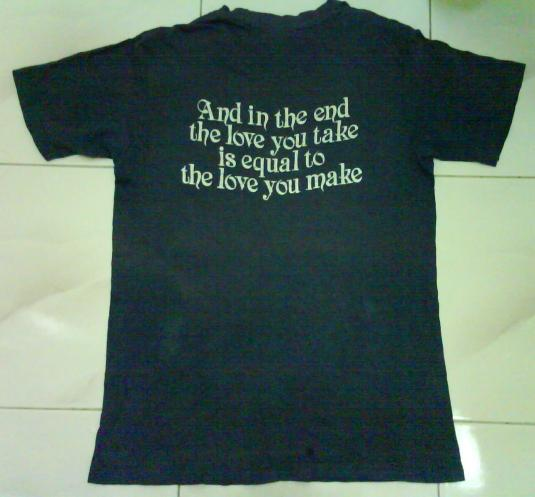 vintage original JOHN LENNON T-Shirt70s