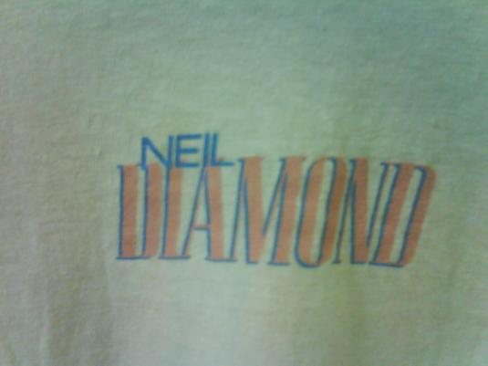 VINTAGE NEIL DIAMONDT SHIRT RARE