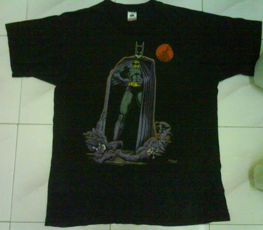 VINTAGE BATMAN DC COMICS T-SHIRT 1988