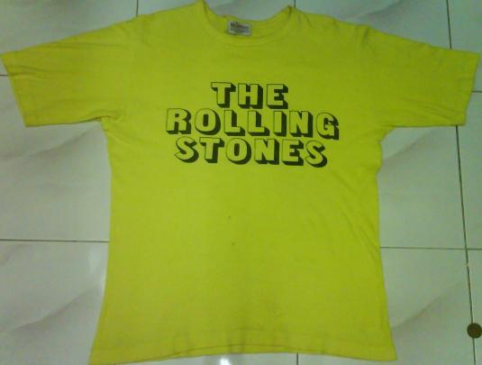 vtg rolling stones 70s
