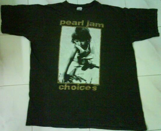 VTG 90`s PEARL JAM T Shirt 92