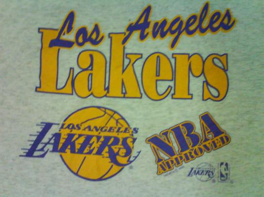 Vintage Los Angeles Lakers