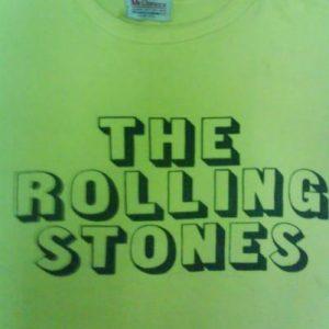 vtg original rolling stones t-shirt rare 1970s