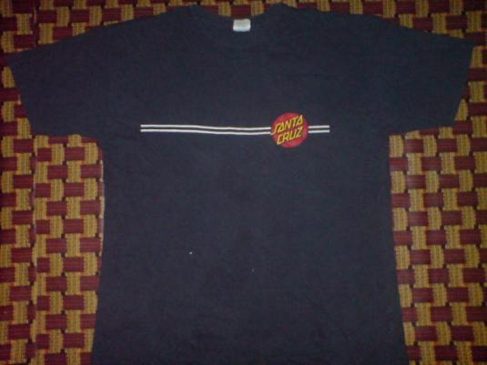 Vintage skateboard t-shirt, Santa Cruz skateboards