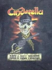 VINTAGE CINDERELLA TOUR 1989 ORIGINAL T-SHIRT