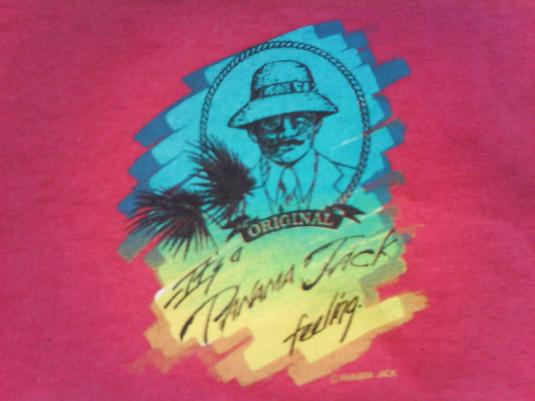 VINTAGE 80'S PANAMA JACK SURF T-SHIRT