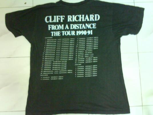 vintage Cliff Richard tour 1990