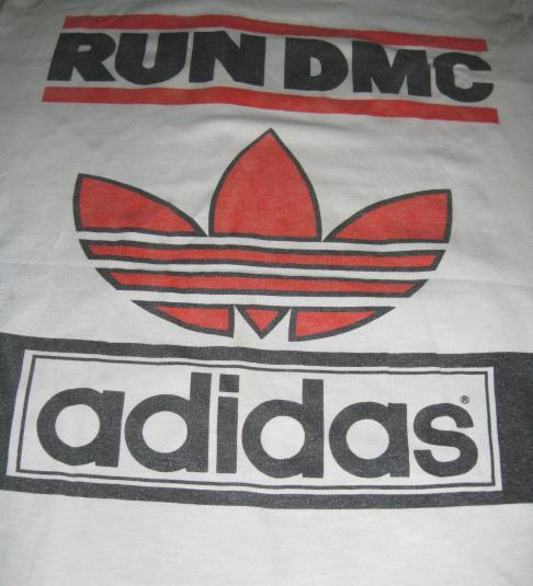 VINTAGE RUN DMC vs ADIDAS 1980s