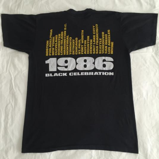 Vintage Depeche Mode 1986 Tour Tee